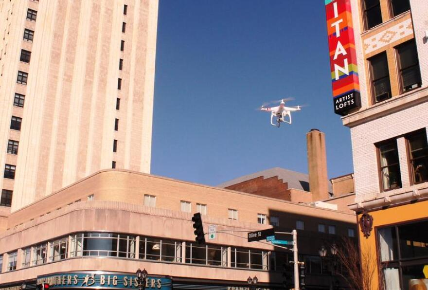 Will a new regulation regarding commercial drone flight change how many drones we see in the skies around us?