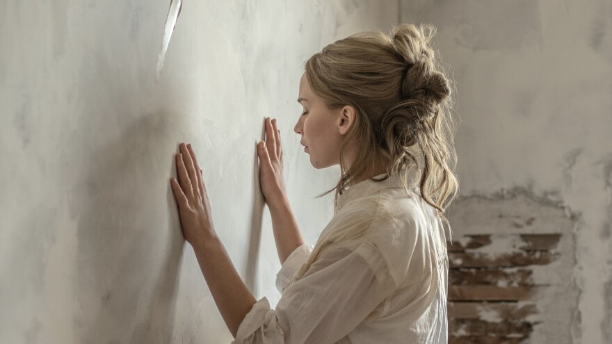 Paint and Suffering: Jennifer Lawrence plays a woman called Mother in Darren Aronofsky's <em>mother!</em>