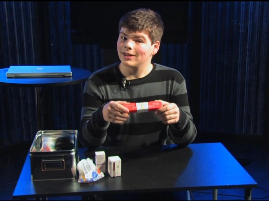 """Cameron Harris, who has had Type 1 diabetes since he was 8 years old, explains the ins and outs of using glucagon for blood sugar lows. Harris hosts a video podcast series called """"In Range"""" on YouTube."""