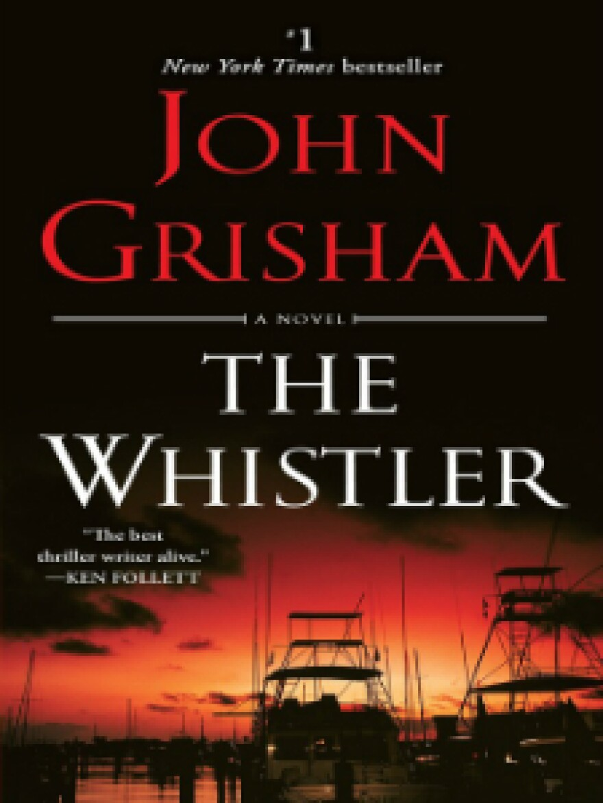 """The Whistler"" by John Grisham was the most checked out adult fiction book at San Antonio Public Library in 2017."