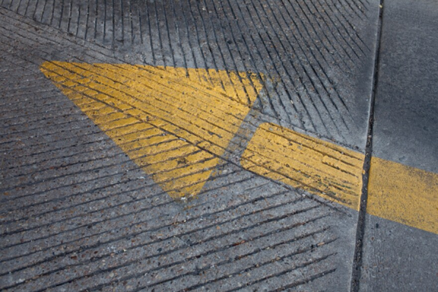 Parking Arrow - Parking Garage - at 8th and Guadalupe - By Daniel Reese - 05_0.jpg