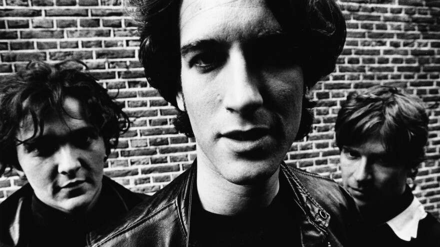 Nada Surf — from left, Daniel Lorca, Ira Elliot and Matthew Caws — photographed in Amsterdam in November 1996, the same year the band's debut record was released.