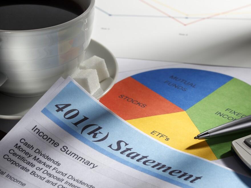 401(k) statement