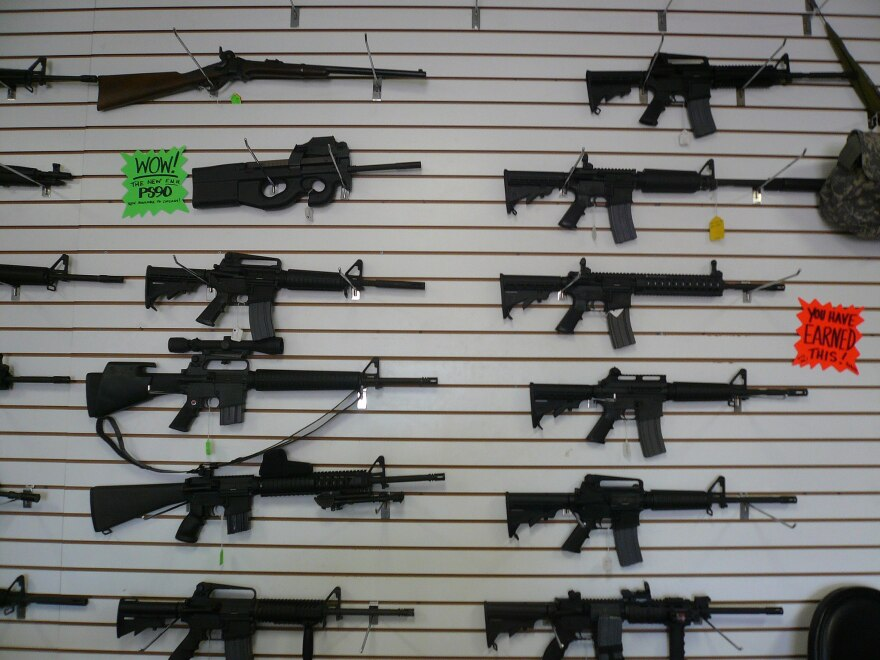 Automatic rifle show