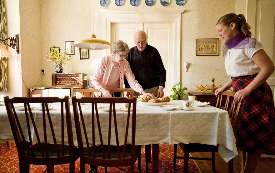 """The Old Town Museum in Aarhus, Denmark has created a """"House of Memories"""" that's an exact replica of a 1950s apartment. It's intended for Alzheimer's patients, whose memories may be triggered by the sights, sounds and smells from the period, researchers say."""