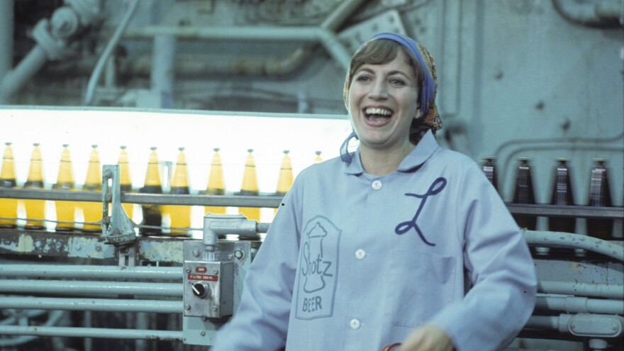 Penny Marshall played Laverne in <em>Laverne & Shirley </em>and went on to have a career as a Hollywood director. She died Monday at the age of 75.