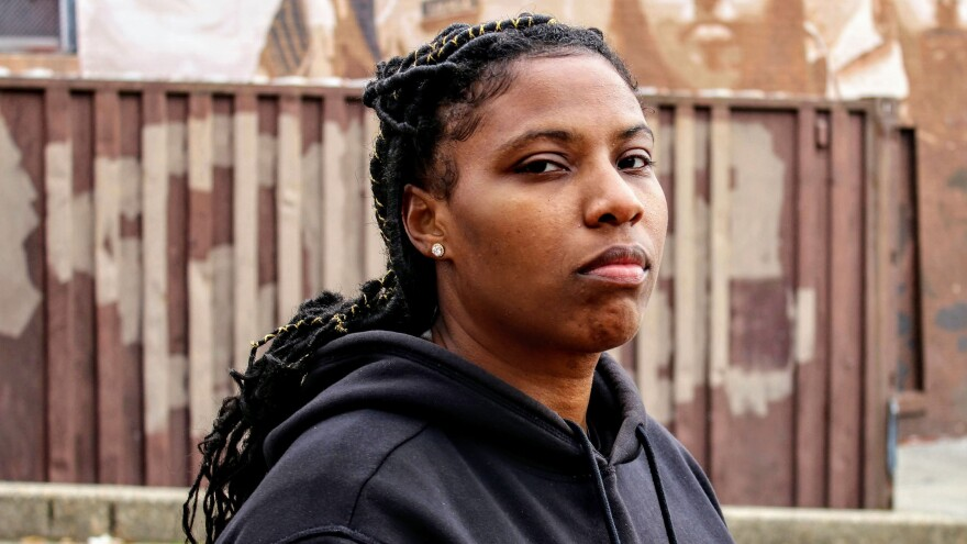 Mary Baxter, aka Isis Tha Saviour, is a Philadelphia-based rapper and artist who draws on her personal experience of incarceration in her art.