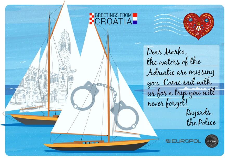 Croatia's postcard
