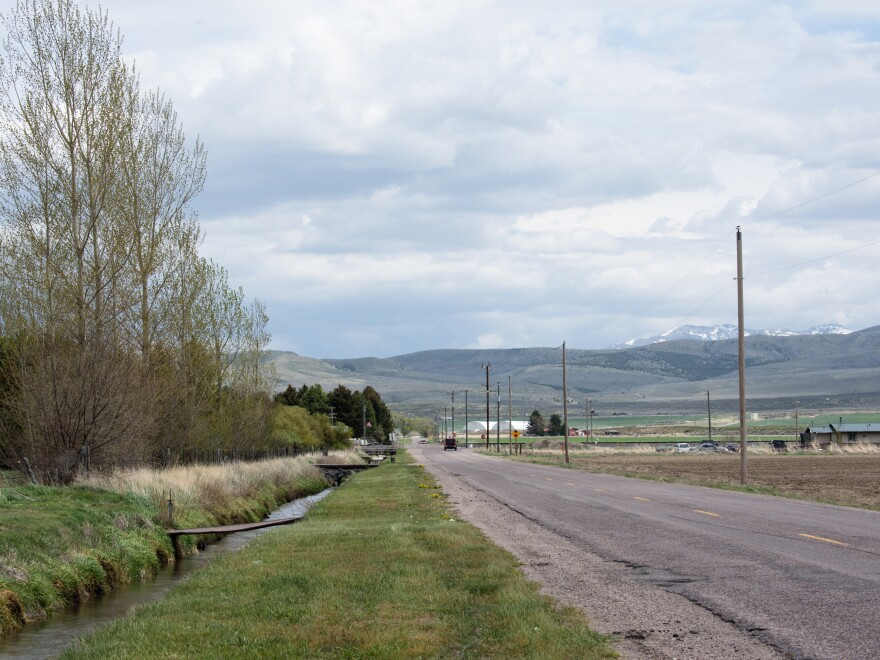 The Fort Hall Indian Reservation in rural eastern Idaho where Adree Edmo grew up.
