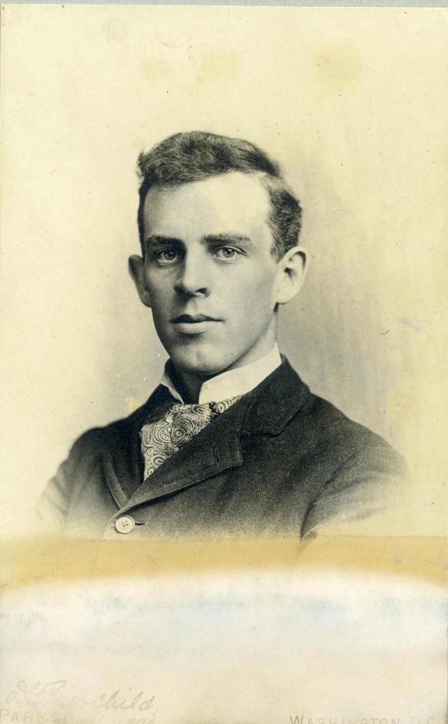 A portrait of David Fairchild.