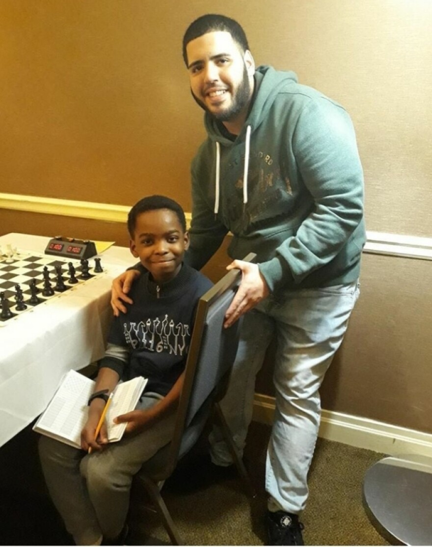 "Tani's coach, <a href=""https://www.pushingpawns.com/"">Shawn Martinez</a>, says the 9-year-old isn't afraid of anything on the board — and ""that's what it takes to beat the best of the best,"" he says."