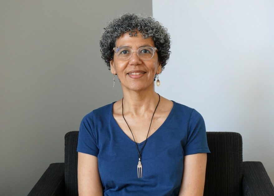 """Rafia Zafar is the author of """"Recipes for Respect: African American Meals and Meaning."""" Her teaching and research at Washington University focuses on literary, culture and food studies."""
