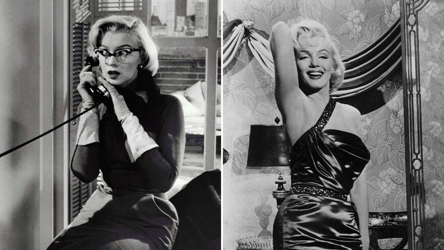 She was a beauty the whole time?! Marilyn Monroe in <em>How To Marry A Millionaire</em>.