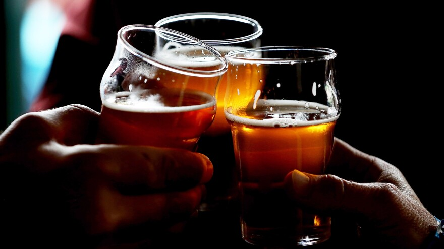 <strong>I'll Drink To That: </strong>Craft beer sales jumped 20 percent last year.