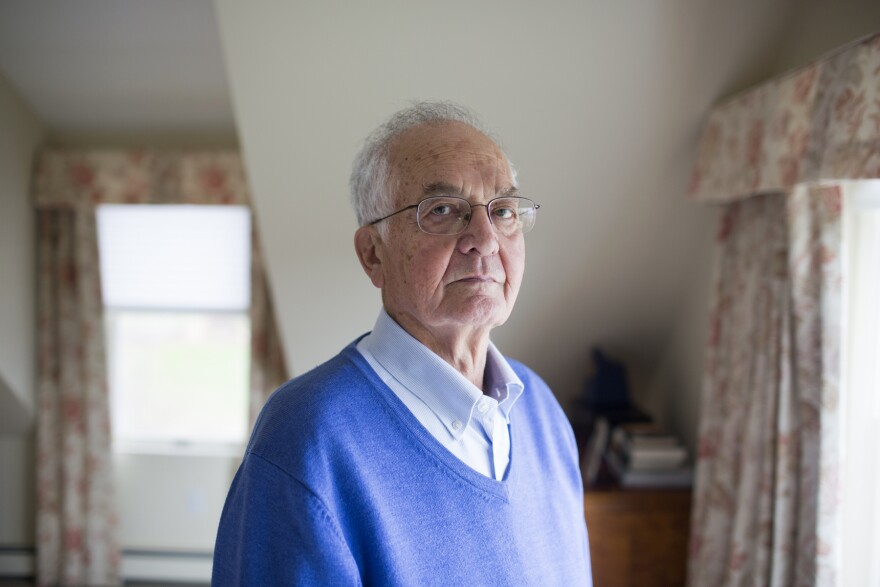 Bob Smithson, 79, can now hold his head upright and breathe on his own, thanks to a medication for myasthenia gravis.