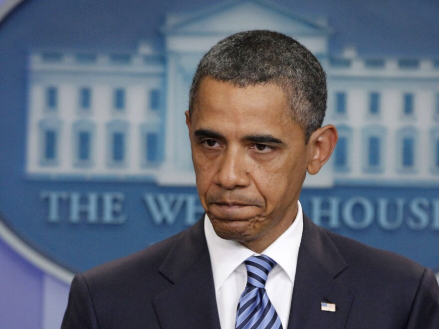 """President Obama meets with lawmakers today for talks on the debt ceiling. """"I don't think the American people sent us here to avoid  tough problems,"""" he told reporters Tuesday."""