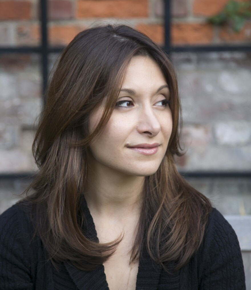 Dina Nayeri is also the author of <em>A Teaspoon of Earth and Sea.</em>