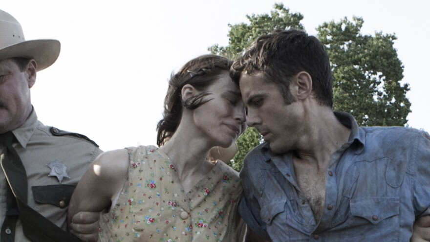 <strong>The broken, parted:</strong> Rooney Mara and Casey Affleck are a couple separated by a robbery gone wrong in David Lowery's aching <em>Ain't Them Bodies Saints.</em>