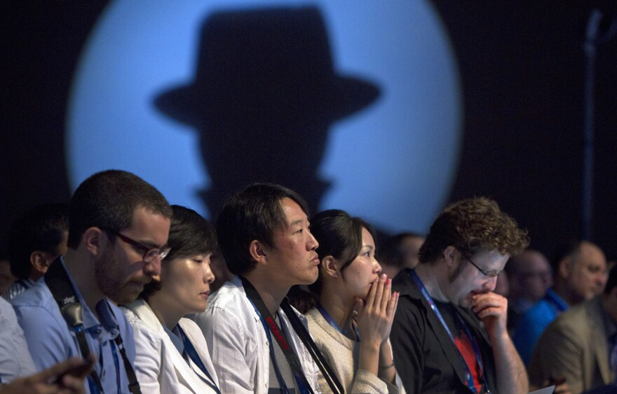 Attendees at this week's Black Hat hacker conference in Las Vegas.