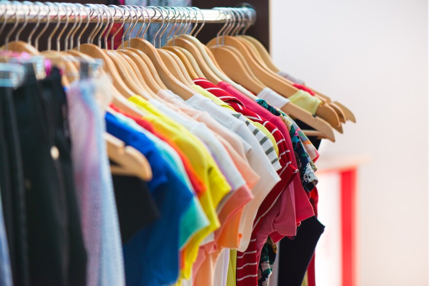 The average person buys 60% more clothing items than 15 years ago, but only keeps them for about half as long.