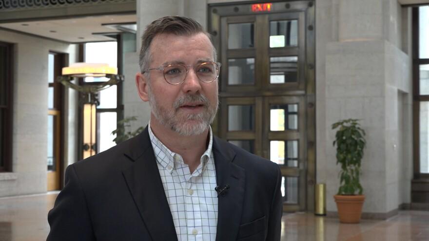 Photo of Luke Stedke, Ohio Statehouse Communications Director