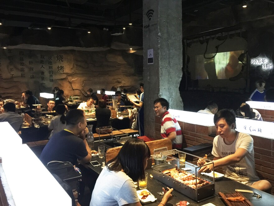 The Beijing restaurant named A Very Long Time Ago caters to relatively wealthy, young customers who are willing to pay for better service. They are leading a small-scale revival of tipping not seen in Chinese restaurants for decades.
