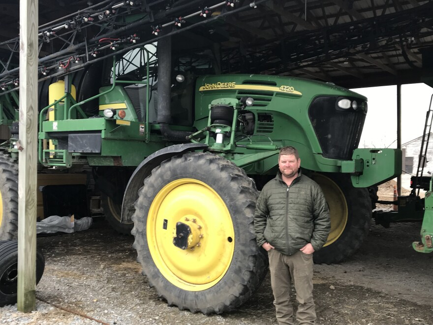 Farmers like Tommy Riley of Missouri's bootheel have relied upon dicamba resistant  soybeans and cotton to improve yield.
