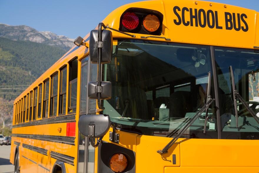 Photo of school bus.