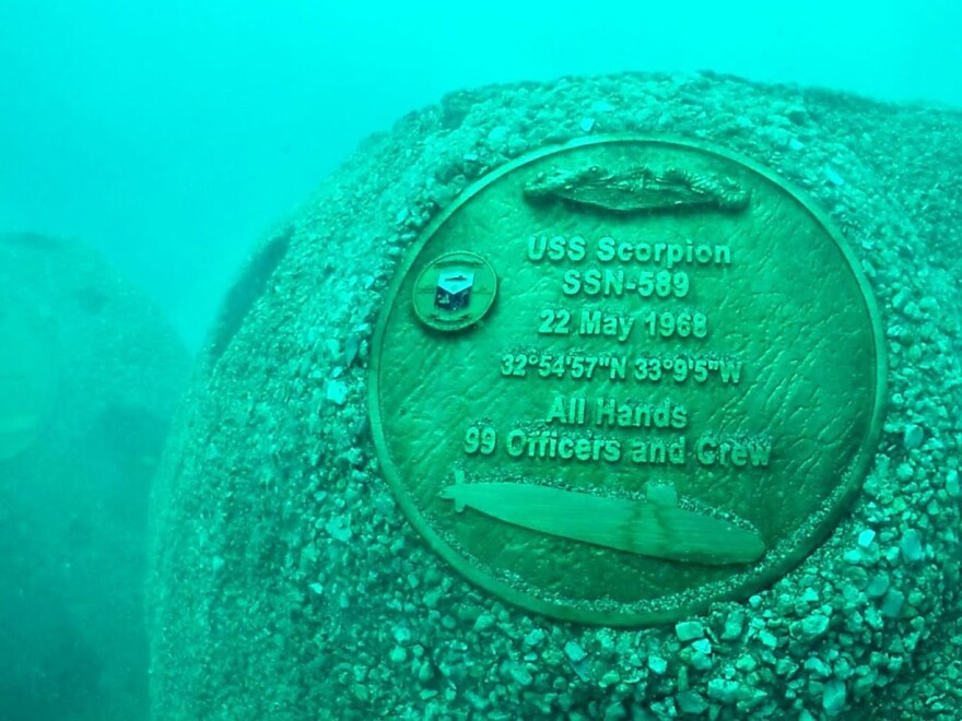 The USS Scorpion mysteriously disappeared in 1968 and is the last of 65 Navy submarines that have been lost at sea. A new artificial reef off the coast of Sarasota serves as a memorial to these ships and those who served on them.