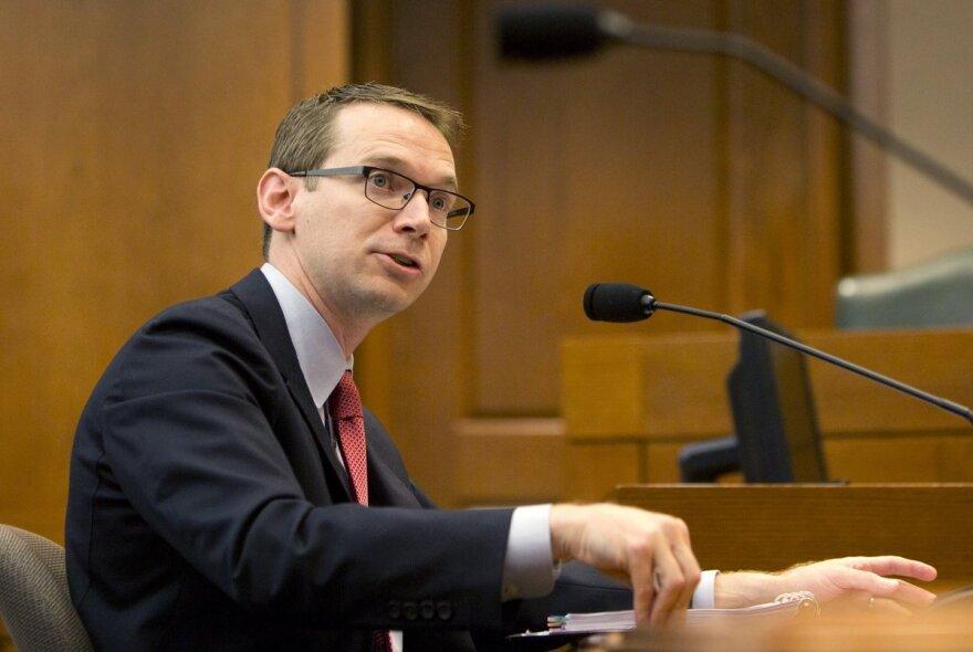 Texas Education Commissioner Mike Morath