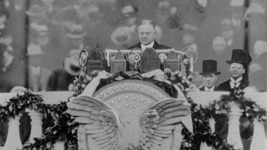 An undated photo of President Herbert Hoover whose term as president ran from 1929 to 1933.