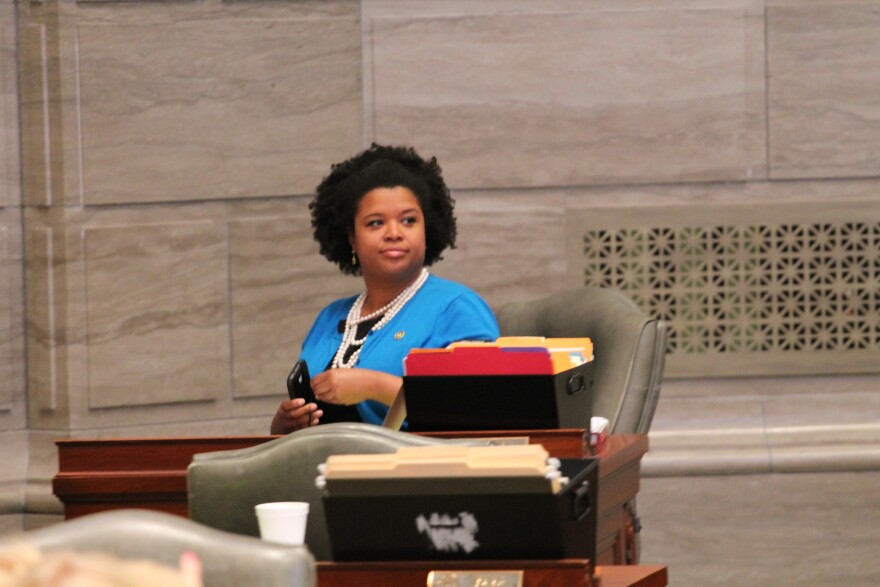 State Sen. Maria Chappelle-Nadal, D-University City, doesn't have a lot of confidence in St. Louis County government to supply governmental services. Chappelle-Nadal has been critical for how the county police department handled protests that emerged afte