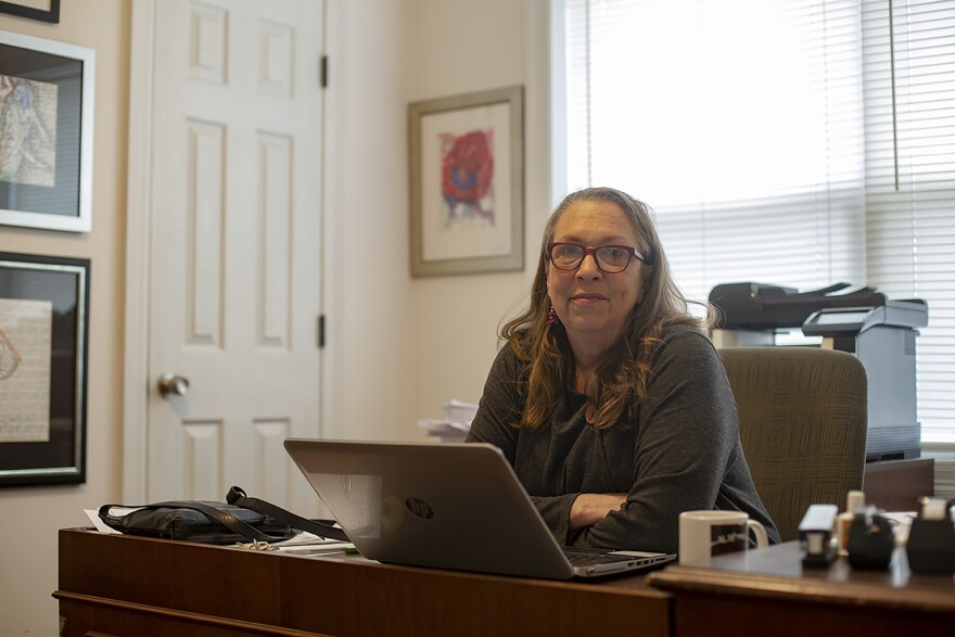 Catherine Sullivan is executive director of Grace House, a Jackson nonprofit that offers transitional and semi-permanent housing and support services for homeless men and women living with HIV/AIDS and women recovering from substance abuse.