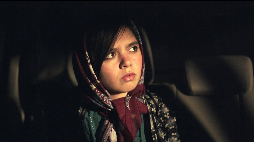 Iranian actress Marziyeh Rezaei plays a fictionalized version of herself in <em>3 Faces. </em>