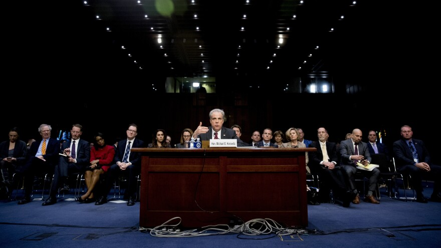 Department of Justice Inspector General Michael Horowitz testified at a Senate Judiciary Committee hearing on the his report on alleged abuses of the Foreign Intelligence Surveillance Act earlier this month.