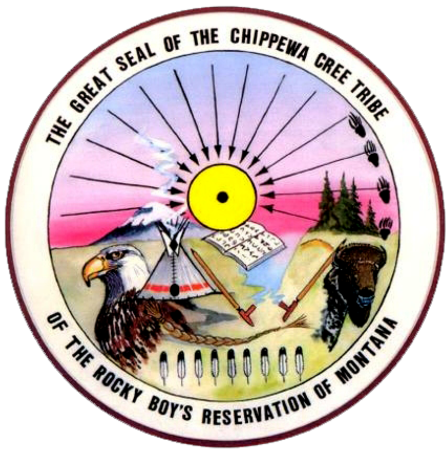 The Great Seal of the Chippewa Cree Tribe