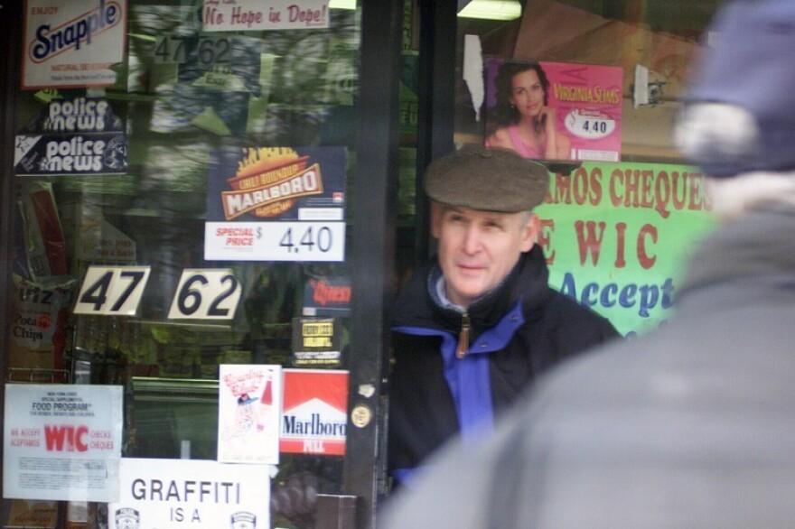 <p>Christopher Metsos in Queens, N.Y.</p>
