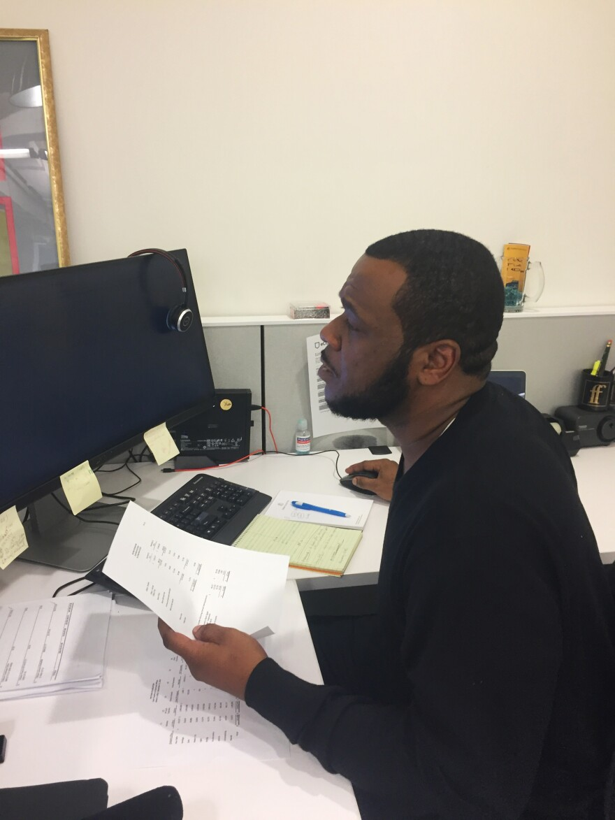 Lavar Gibson, 38, is a former BPI student currently interning at the Ford Foundation in New York City.