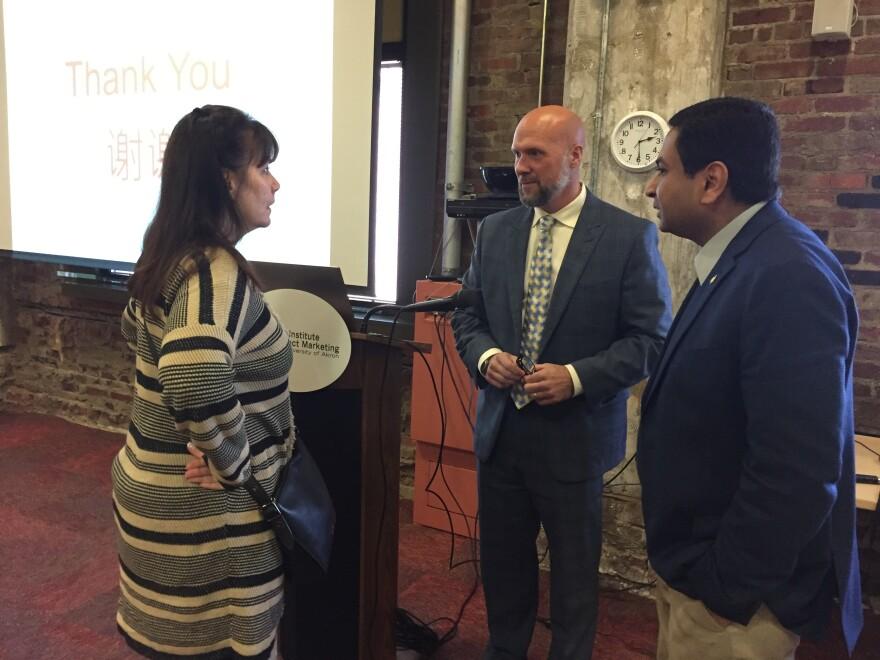 photo of Matt Fuss, Mahesh Srinivasan, Suzanne Gradisher