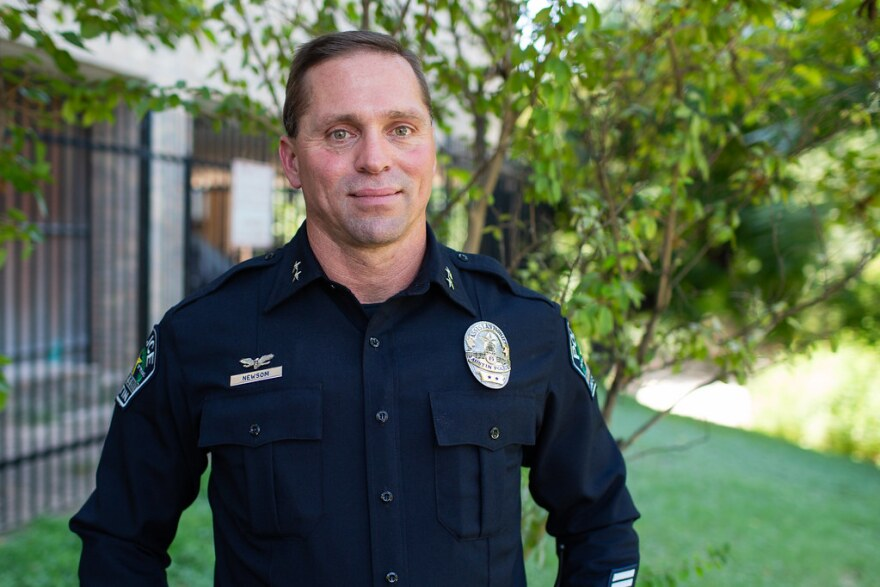 Former Assistant Police Chief Justin Newsom has been accused of racism, but an independent investigation could not corroborate the accusations.