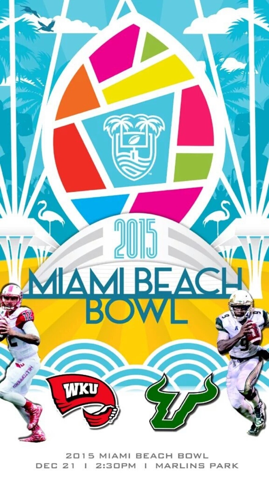 USF football will play Western Kentucky Univ. in the Miami Beach Bowl on Dec. 21.