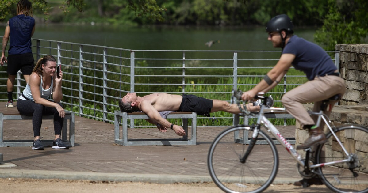 Austin Had Its First 100-Degree Day A Little Early This Year