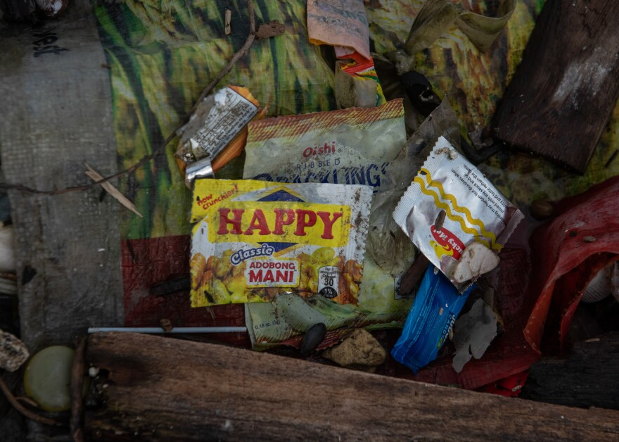 Sachets like these, developed to market consumer goods to the poor, have become ubiquitous all over Asia.