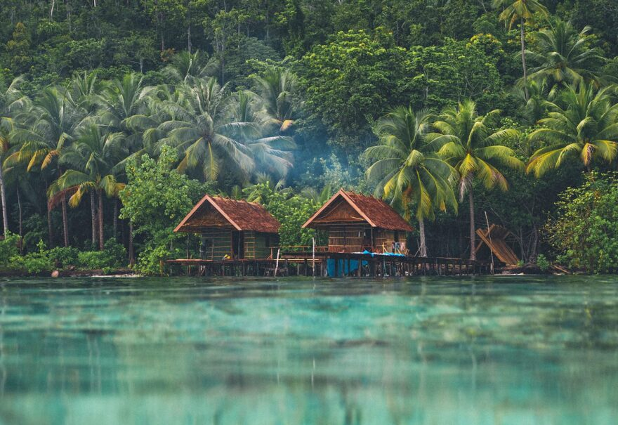 The Raja Ampat Islands. (Courtesy Adventure Junky)
