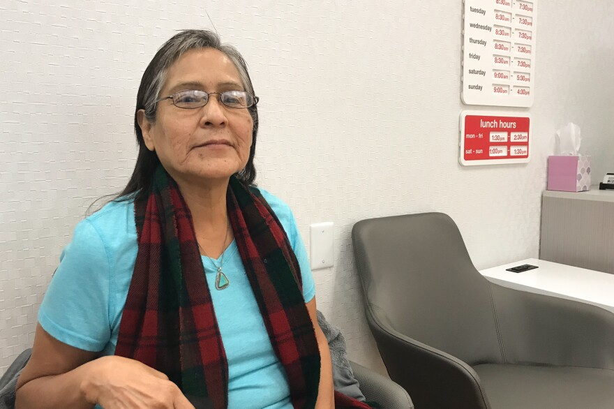 Rosita Rodriguez uses the expanded MinuteClinic at a local CVS store to help her manage her arthritis pain and diabetes.