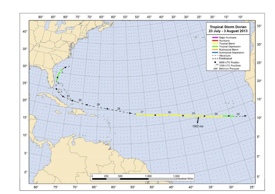 Tropical Storm Dorian
