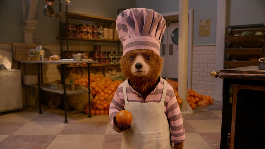 Wee Ol' Teddy, Marmalade: Ben Whishaw voices the perpetually well-meaning bear in <em>Paddington 2.</em>