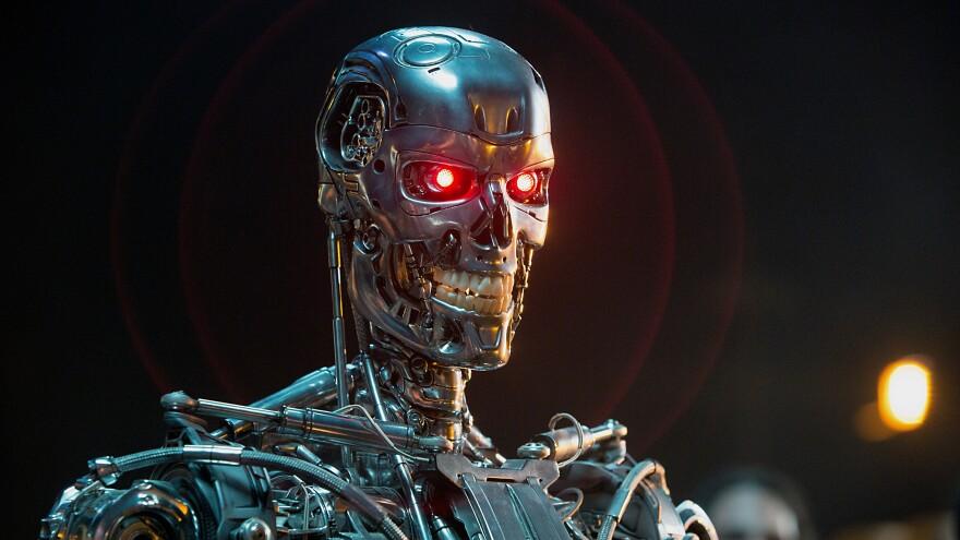 A Series T-800 Robot in <em>Terminator Genisys</em>.