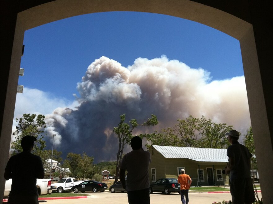 The Bastrop County Complext Fire in 2011