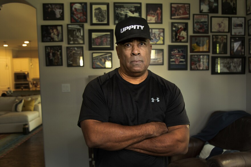 Willy T. Ribbs is the first and one of only two black drivers in the history of Indy car racing. He lives in Driftwood and is now a professional skeet-shooter.